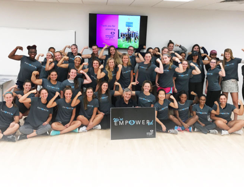"Nova Southeastern University Female Student-Athletes Participate in ""Empower the Girls"""